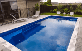 Luxurious heated guest swimming pool