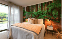 The richness and warmth of the Redwood Suite